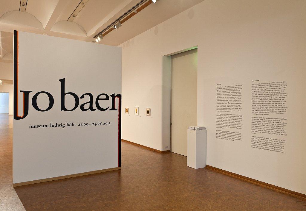 jo baer – museum ludwig köln